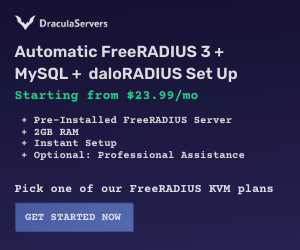 automatic-freeradius-servers